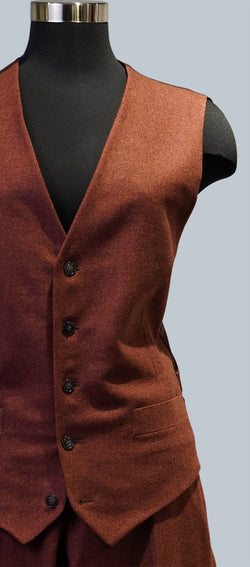 Red Brick Vest & Trouser