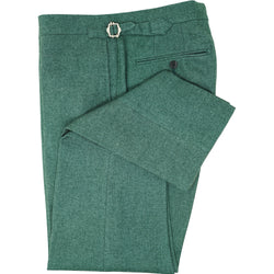 Green Flannel Trouser
