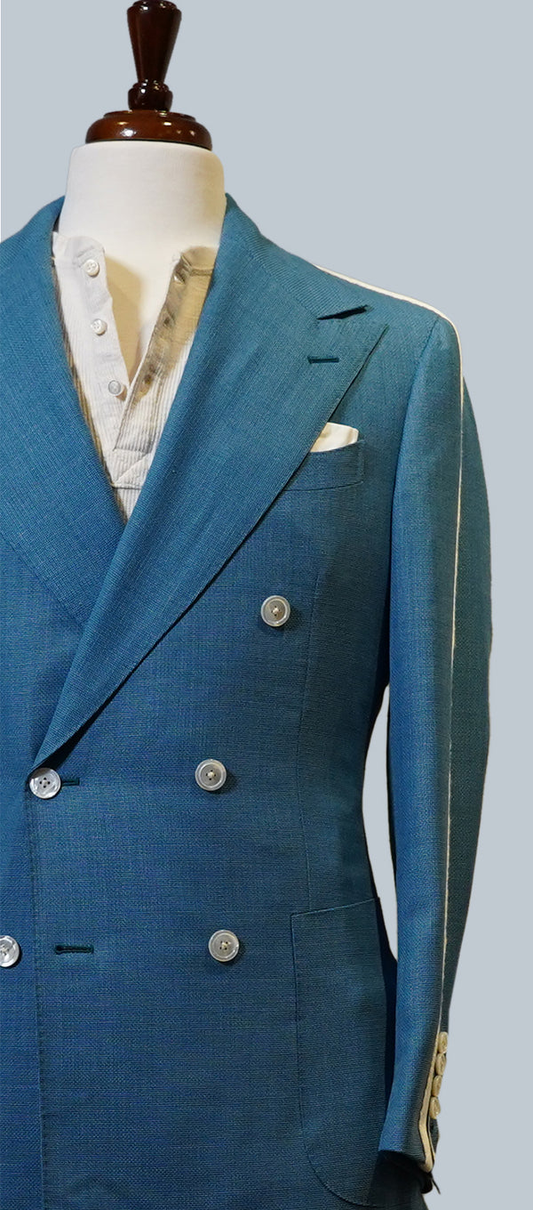Aqua Mesh Striped Jacket