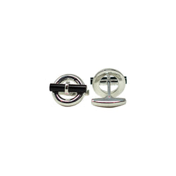 Black Jade Bar Cufflinks