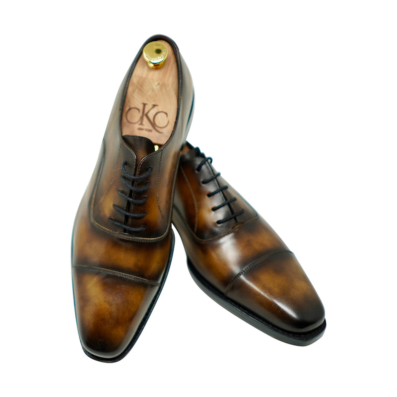 Tobacco Hand Patina Oxford