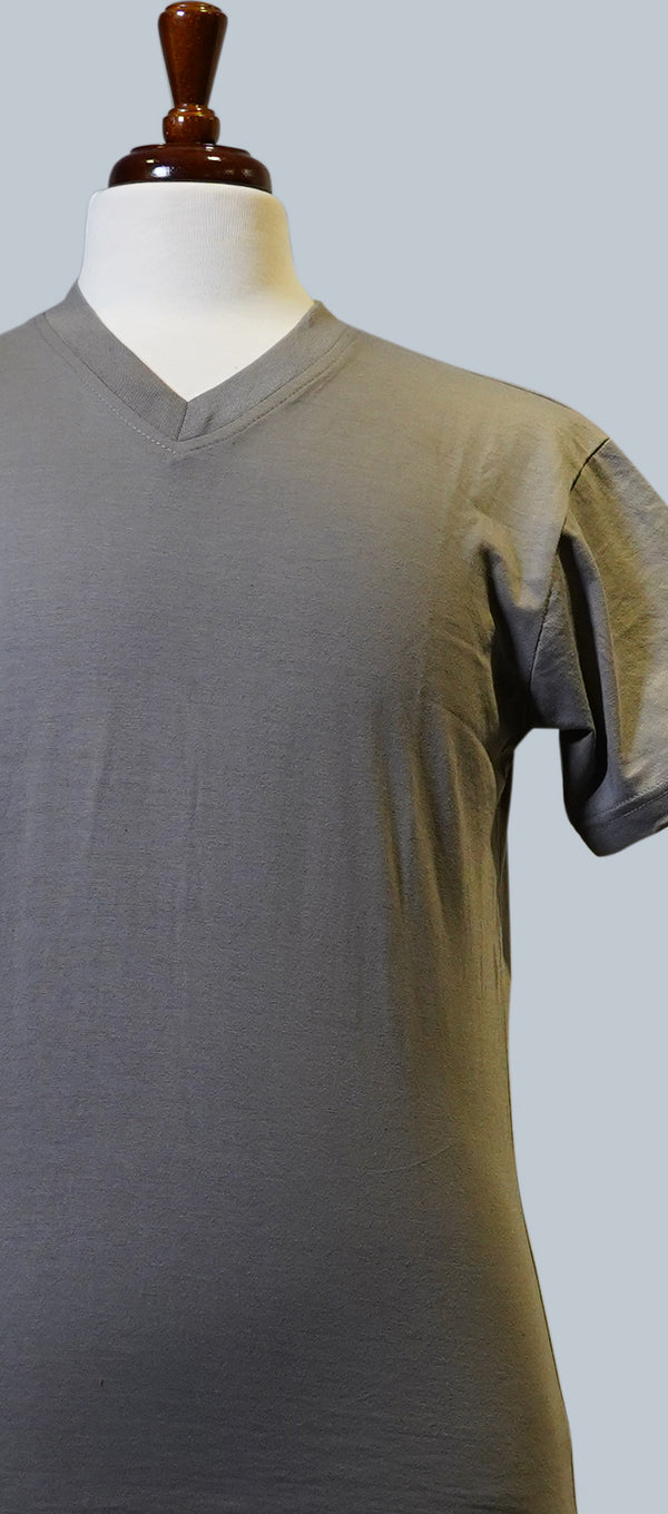 Grey Short Sleeve T-Shirt