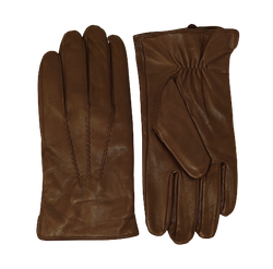 Saddle Leather Cashmere Lined Gloves