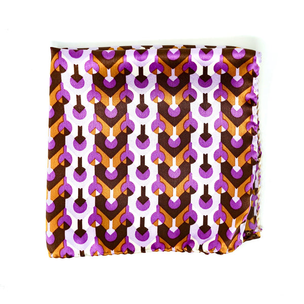 Purple Haze Pocket Square