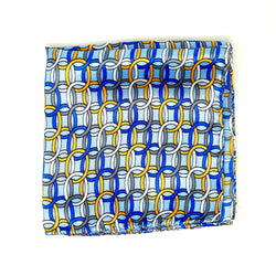 Strongest Link Pocket Square