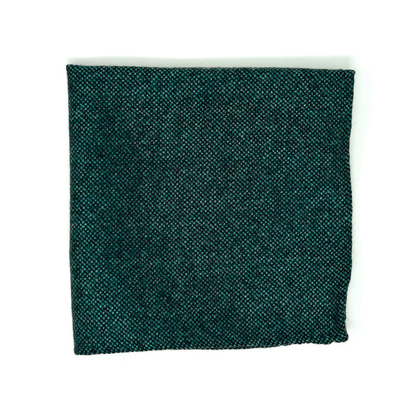Emerald Nailhead Pocket Square