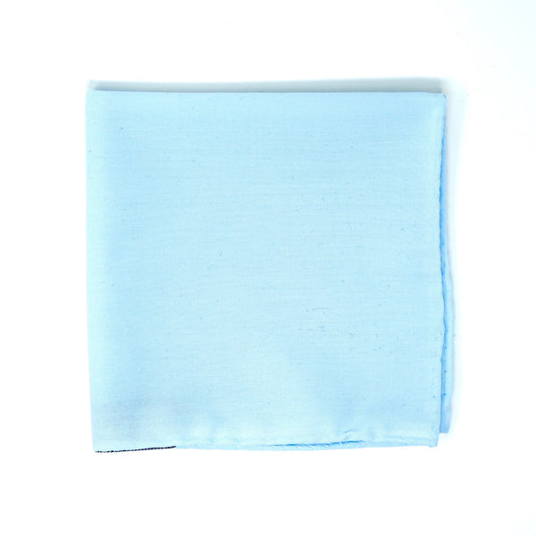 Pale Blue Pocket Square