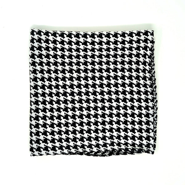 Houndstooth Pocket Square