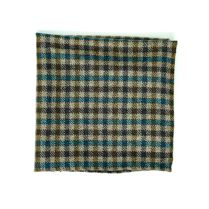 English Country Side Pocket Square