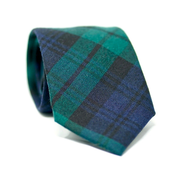 Blackwatch Flannel Tie