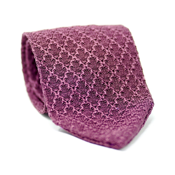 Raisin Knit Tie