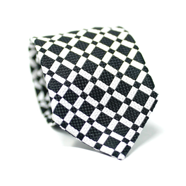 Black & White Deco Tie