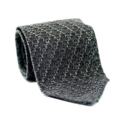 Charcoal Knit Tie