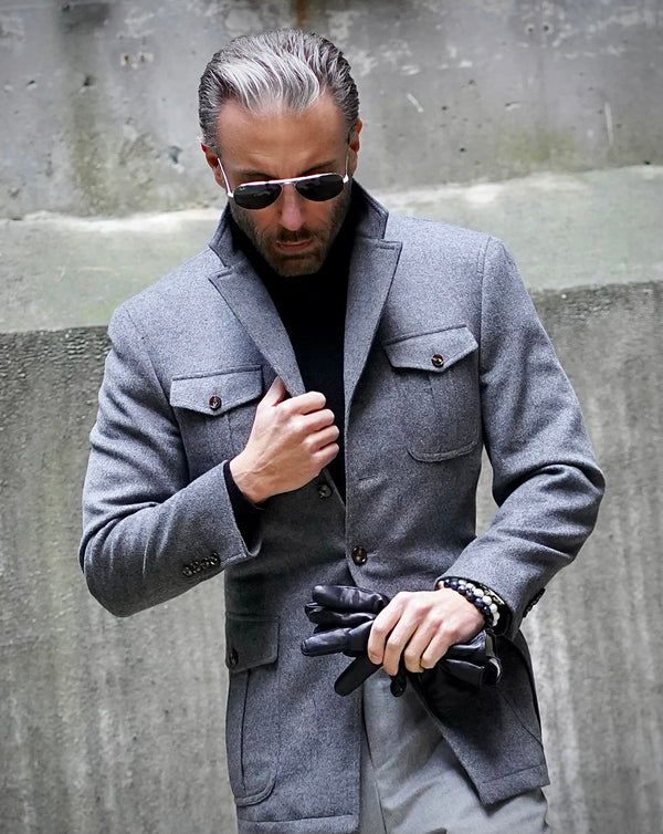Grey Hunter Jacket