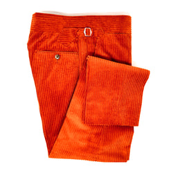 Burnt Orange Corduroy Trousers