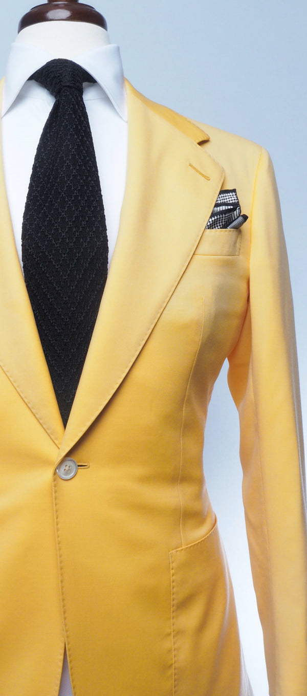 Butter Yellow Suit