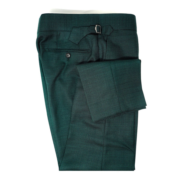 Forest Green Mesh Trousers