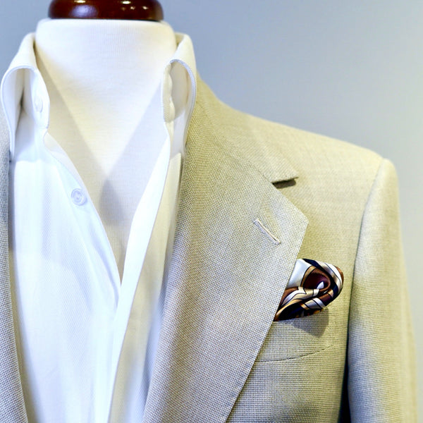 French Sun Pocket Square