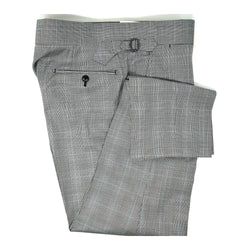 Grey Glenplaid Pale Blue Trousers