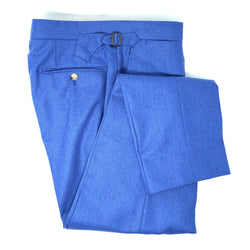 Light Blue Flannel Trousers