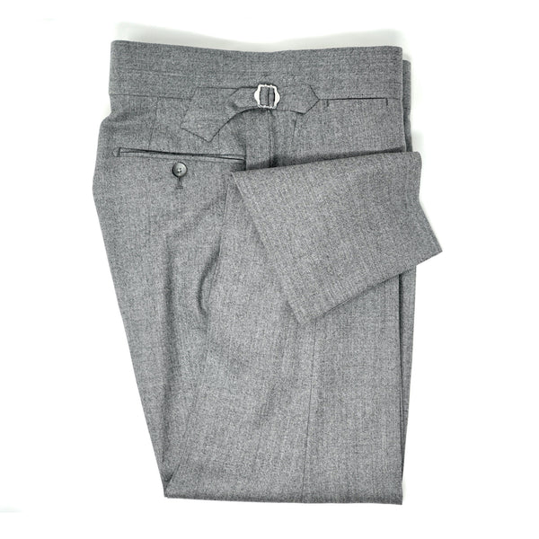 Light Grey Flannel Trousers