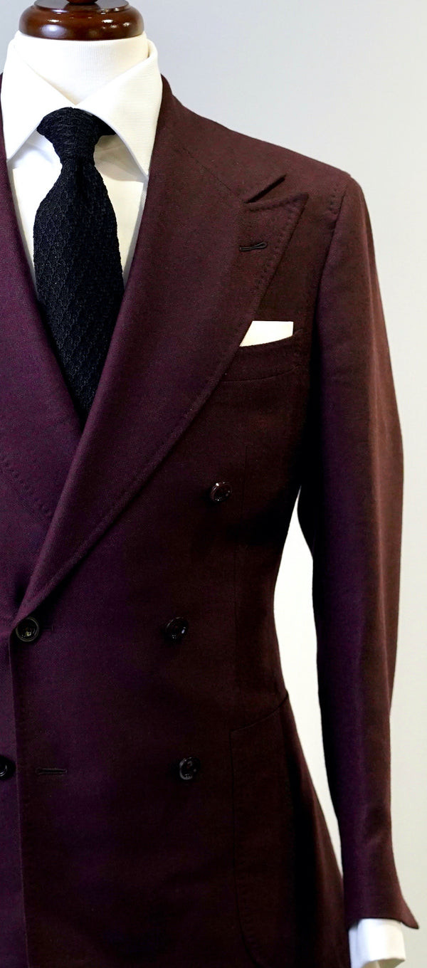 Merlot Flannel Suit