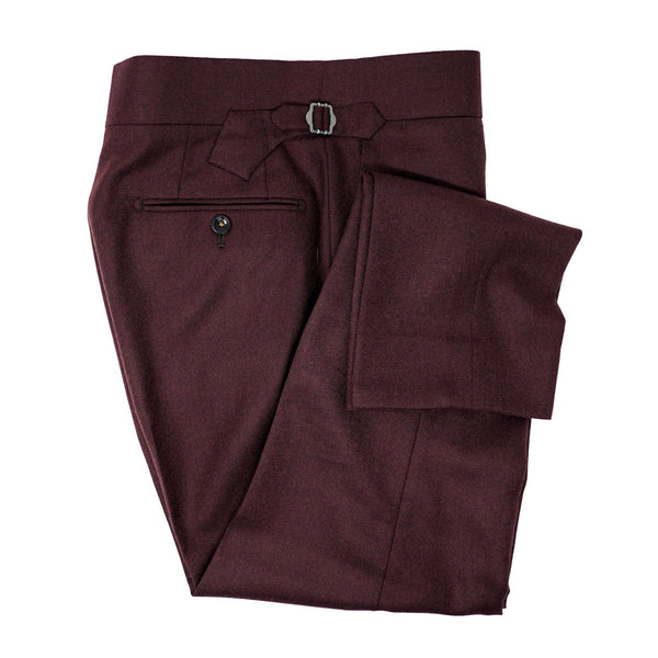 Merlot Flannel Trousers