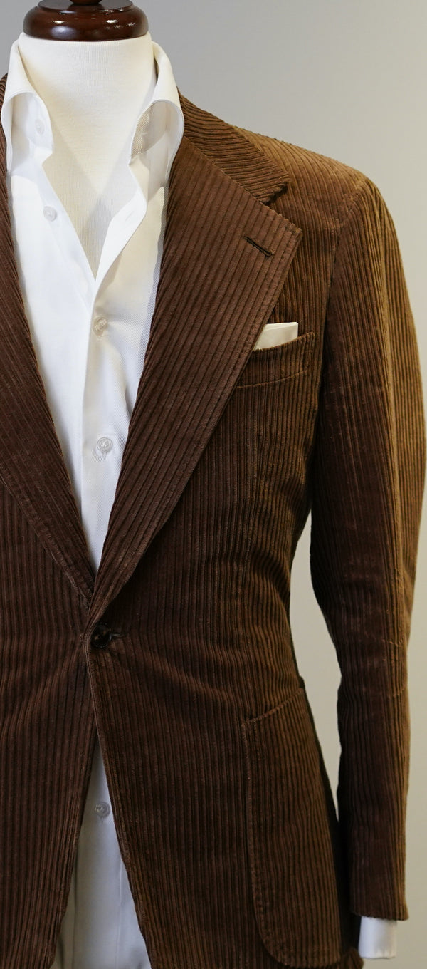 Milk Chocolate Brown Corduroy Jacket