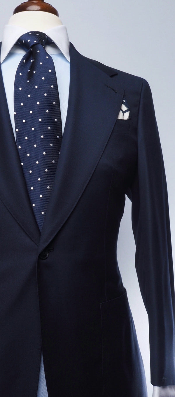 Perfect Blue Notch Suit