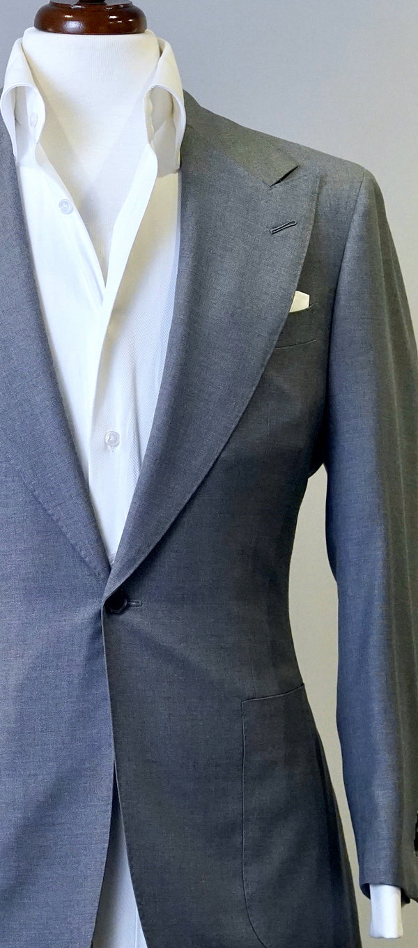 Powder Grey Solid Jacket