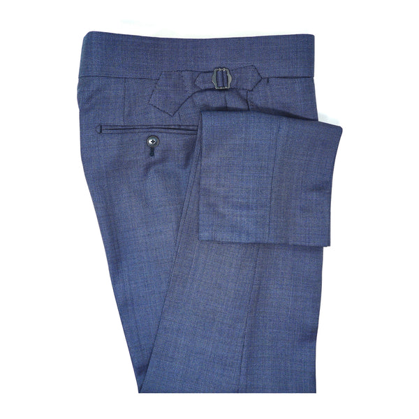 Southern Blue Tick Weave Trousers