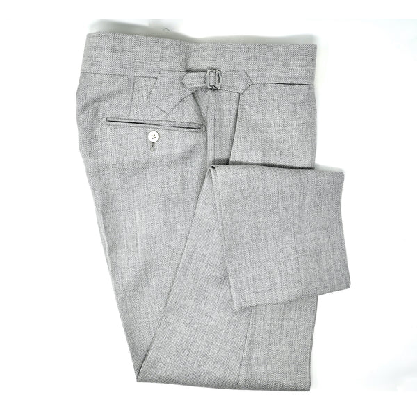 Stone Grey Mesh Trousers