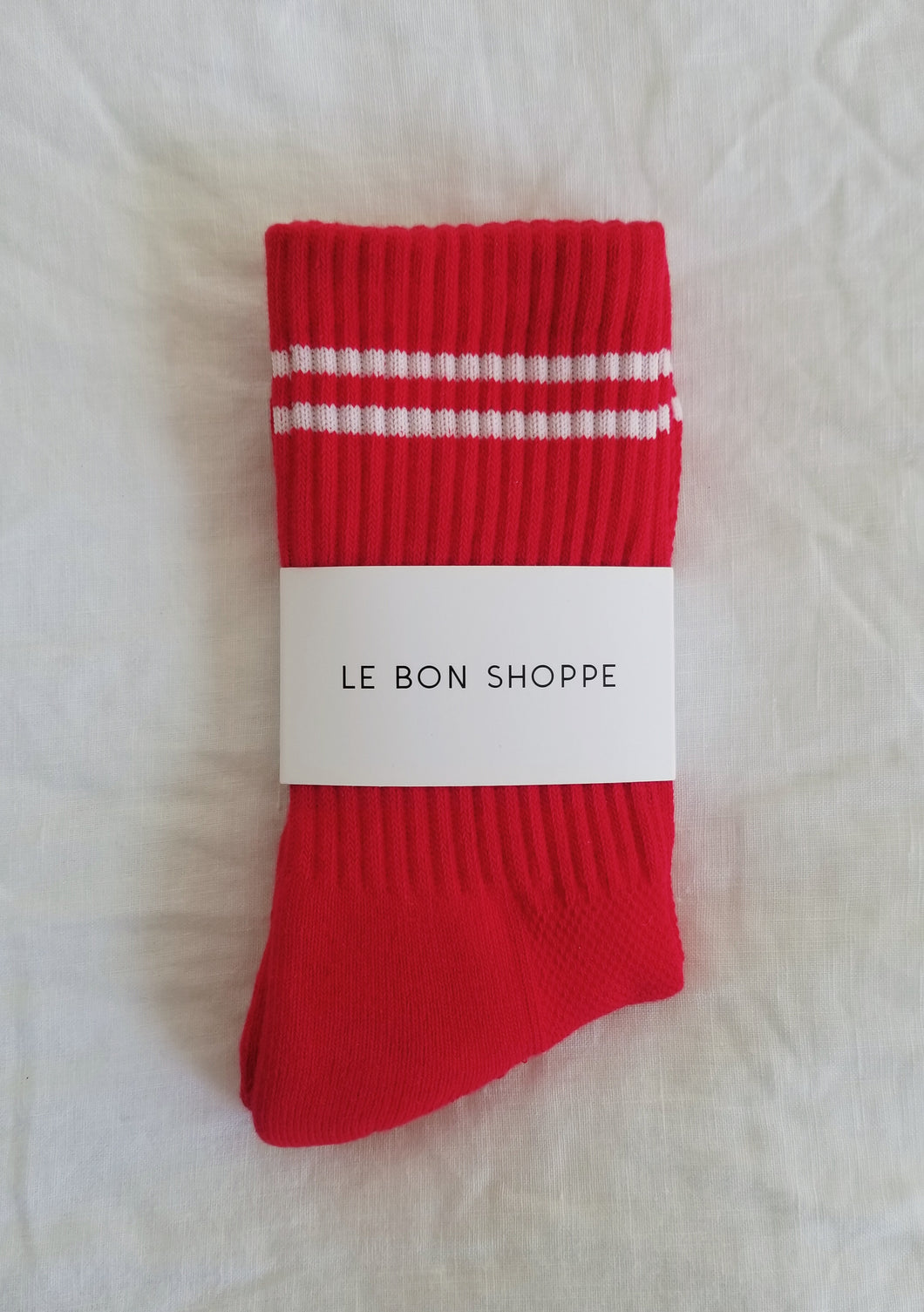 Boyfriend Socks - Red