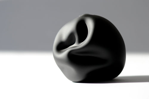 Ebony Softie Bud Vase