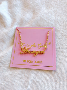 Annoyed Necklace
