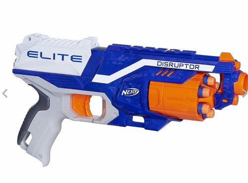 Nerf N-Strike Elite Disruptor Soft Toy Rapid Fire Target Gun