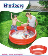 Load image into Gallery viewer, Paddling Pool Bestway 3 Ring Kids Fun Pool. Inflatable Water Activity Pool