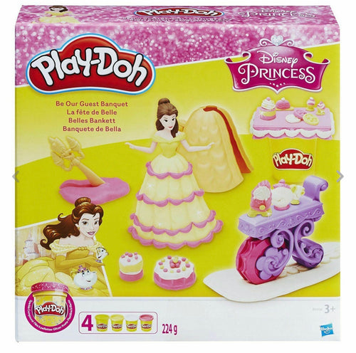 Official Disney Princess Belle Be Our Guest Banquet Play-Doh