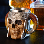 Horned Viking Skull Mug - Perfect Mug For Your Coffe And Wine