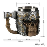 Amazed Your Friend - Like No Other Viking Skeleton Mug