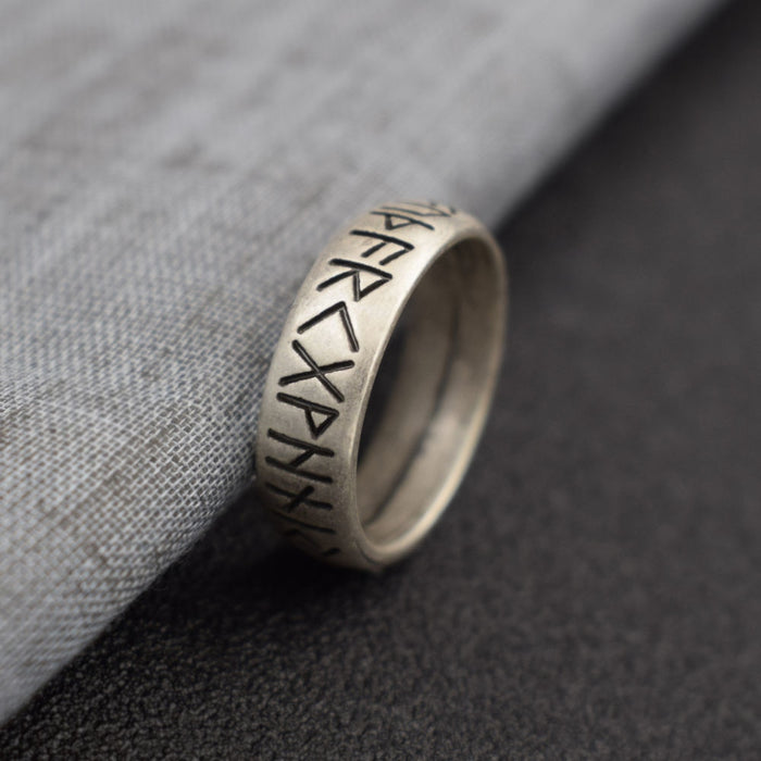 Viking Rune Ring Of Valhalla