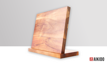 Load image into Gallery viewer, Horudo Acacia Wood Magnetic Knife Holder