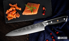 Load image into Gallery viewer, Kurashikku 8-inch Chef Knife