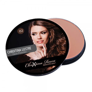 Chrixtina Rocca Creme Puff Compact Powder 02 Gay Whisper