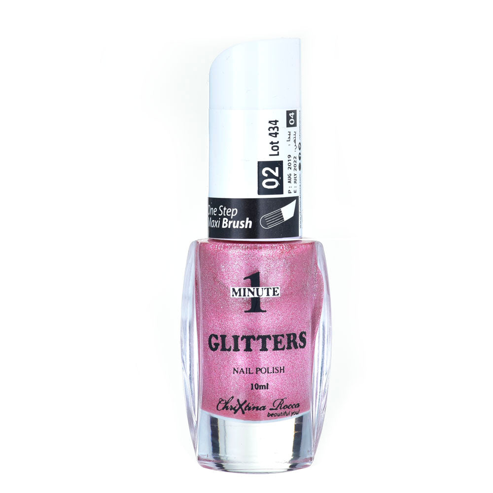 Chrixtina Rocca 1 Minute Glitters Nail Polish 10ml