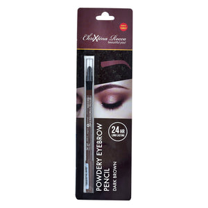 Chrixtina Rocca 24 HR Long Lasting Powdery Eyebrow Pencil Dark Brown