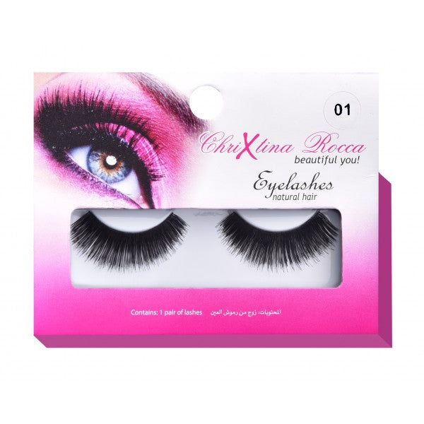 Chrixtina Rocca Eye Lashes (Thick pin-up) Sc40453