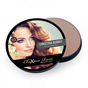 Chrixtina Rocca Creme Puff Compact Powder 03 Medium Beige