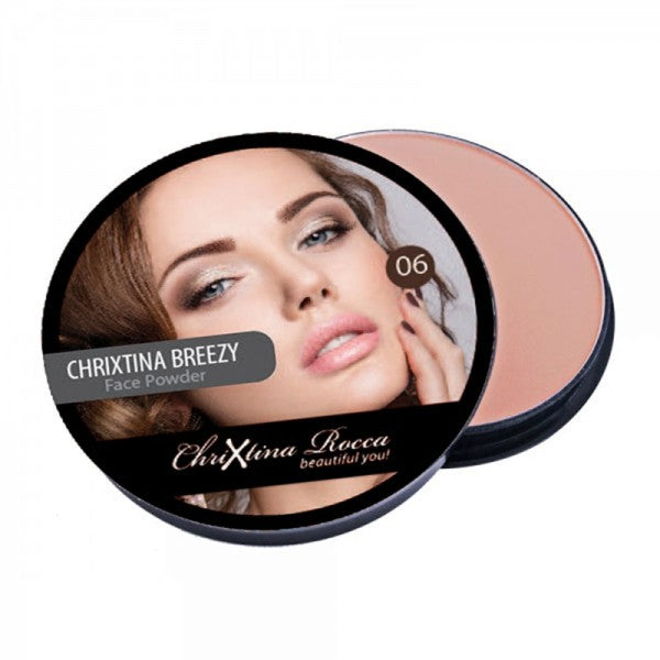 Chrixtina Rocca Creme Puff Compact Powder 06 Tempting Touch