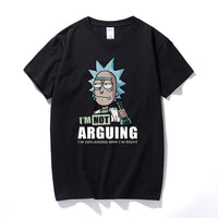 Rick and Morty I'm Not Arguing Men's T-Shirt